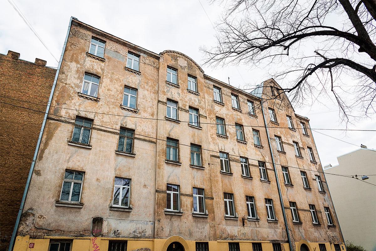 Cuidados de las fachadas de edificios